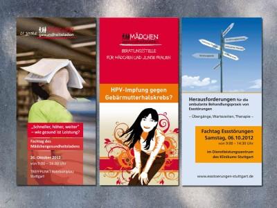 Folder MädchenGesundheitsladen/ABAS Stuttgart