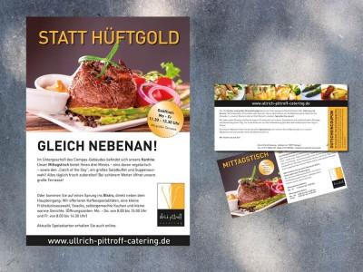 Plakat- und Postkartenaktion Ullrich Pittroff Catering