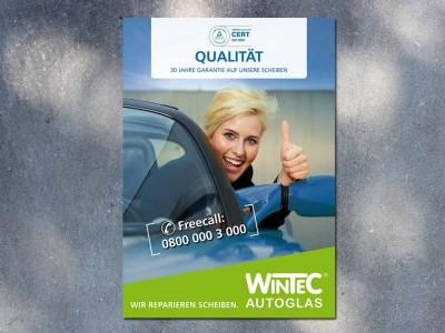Plakatserie Wintec AG