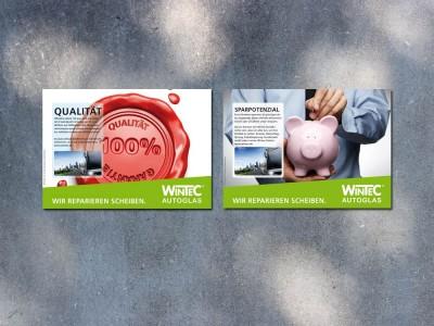 Anzeigenserie Wintec AG